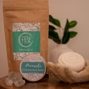 body and bath pack with zen tea