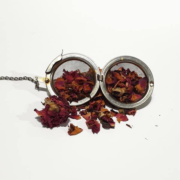 rose loose leaf tea