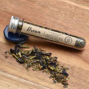 Dream Zen tea sample test tube