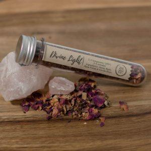rose zen tea sampler test tube